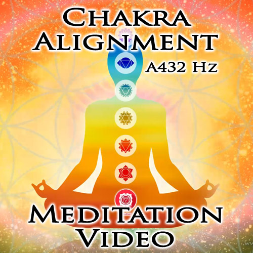 Chakra Alignment Meditation Video in A432 Hz by MahaRa